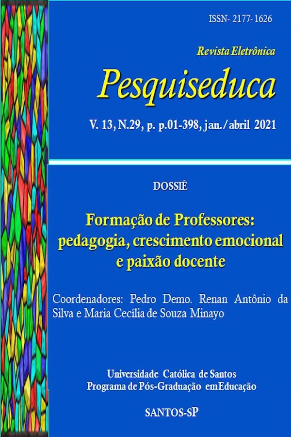 Visualizar v. 13 n. 29 (2021): FORMAÇÃO DE PROFESSORES: PEDAGOGIA, CRESCIMENTO EMOCIONAL E PAIXÃO DOCENTE (DOSSIÊ)