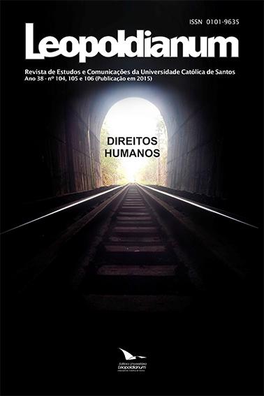 Visualizar v. 38 n. 104-6 (2012): Direitos Humanos