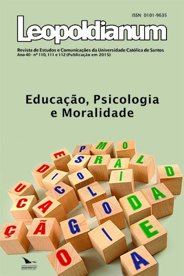 Visualizar v. 40 n. 110-2 (2014): EDUCAÇÃO, PSICOLOGIA E MORALIDADE